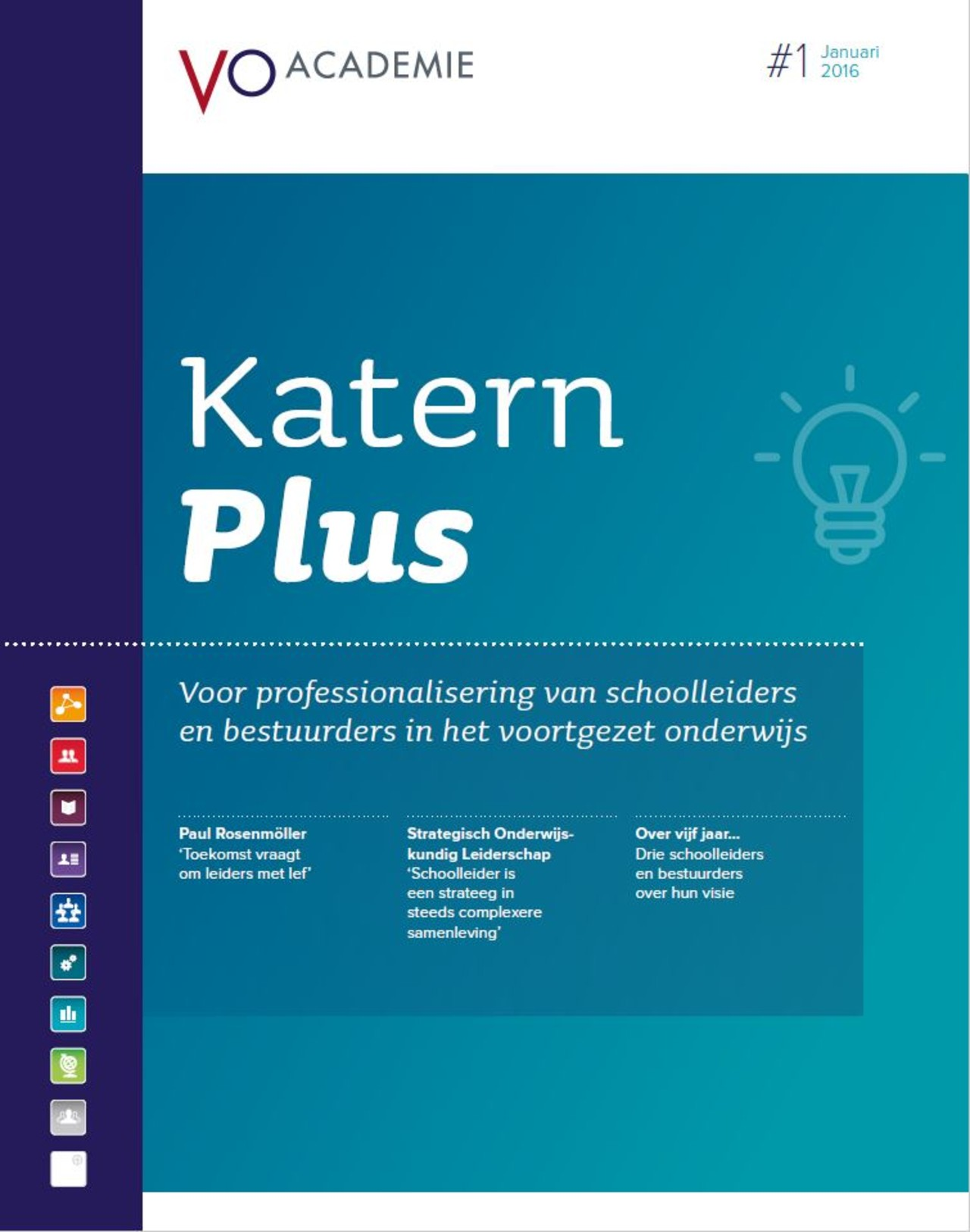 Cover katern plus 1
