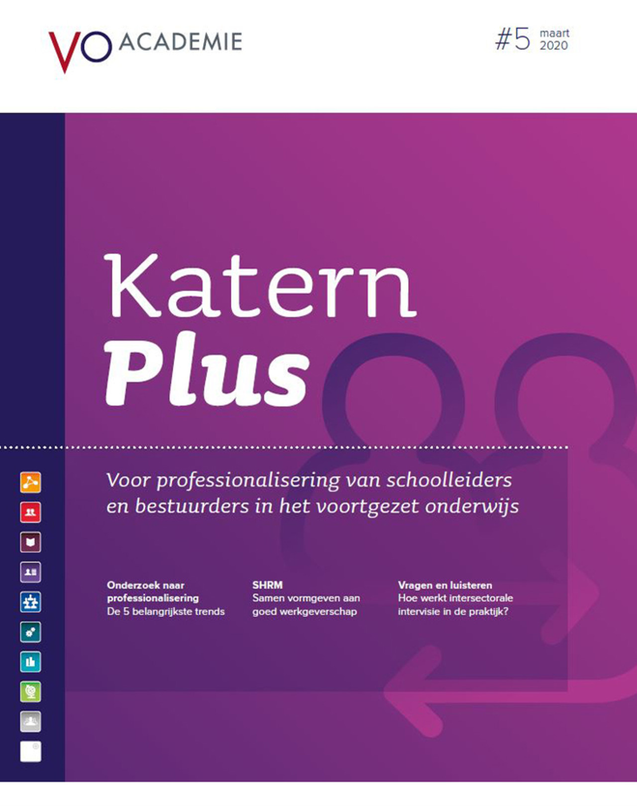 Cover katern plus 5